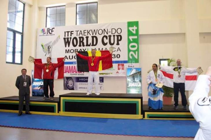 Toby-World Champion_Taekwondo-do