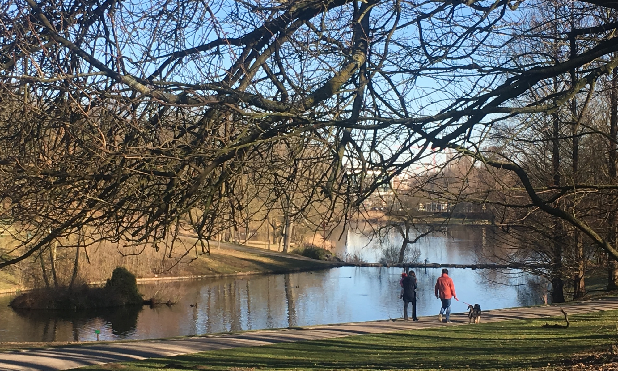 Plimbare în parc, Woluwe - St. Lambert, Bruxelles